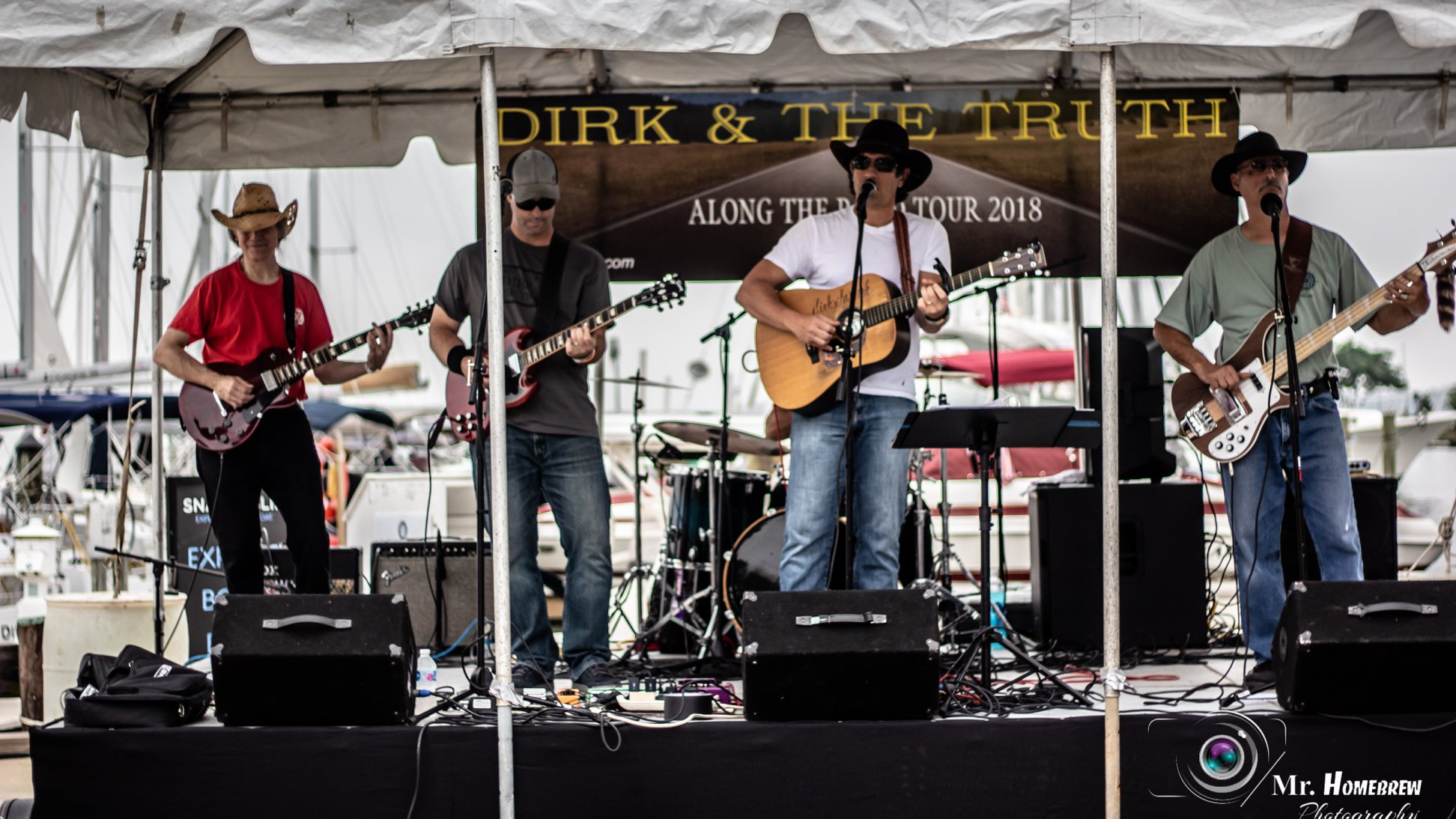 Dirk & The Truth - Live At Eastport A Rocking - Tour Dates 2018